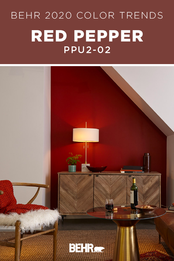 10 Amazing Red Paint For Living Room