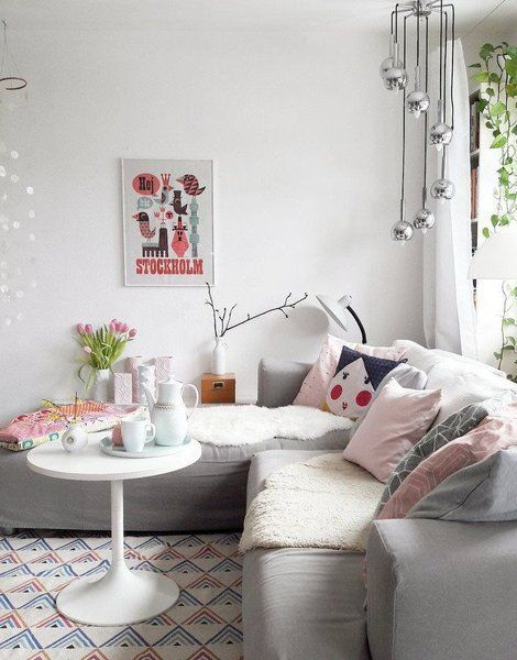 Der Frühling zu Hause \u2013 mit fröhlich frischen Pastellfarben