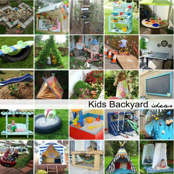 Genial DIY Backyard Ideas For Kids
