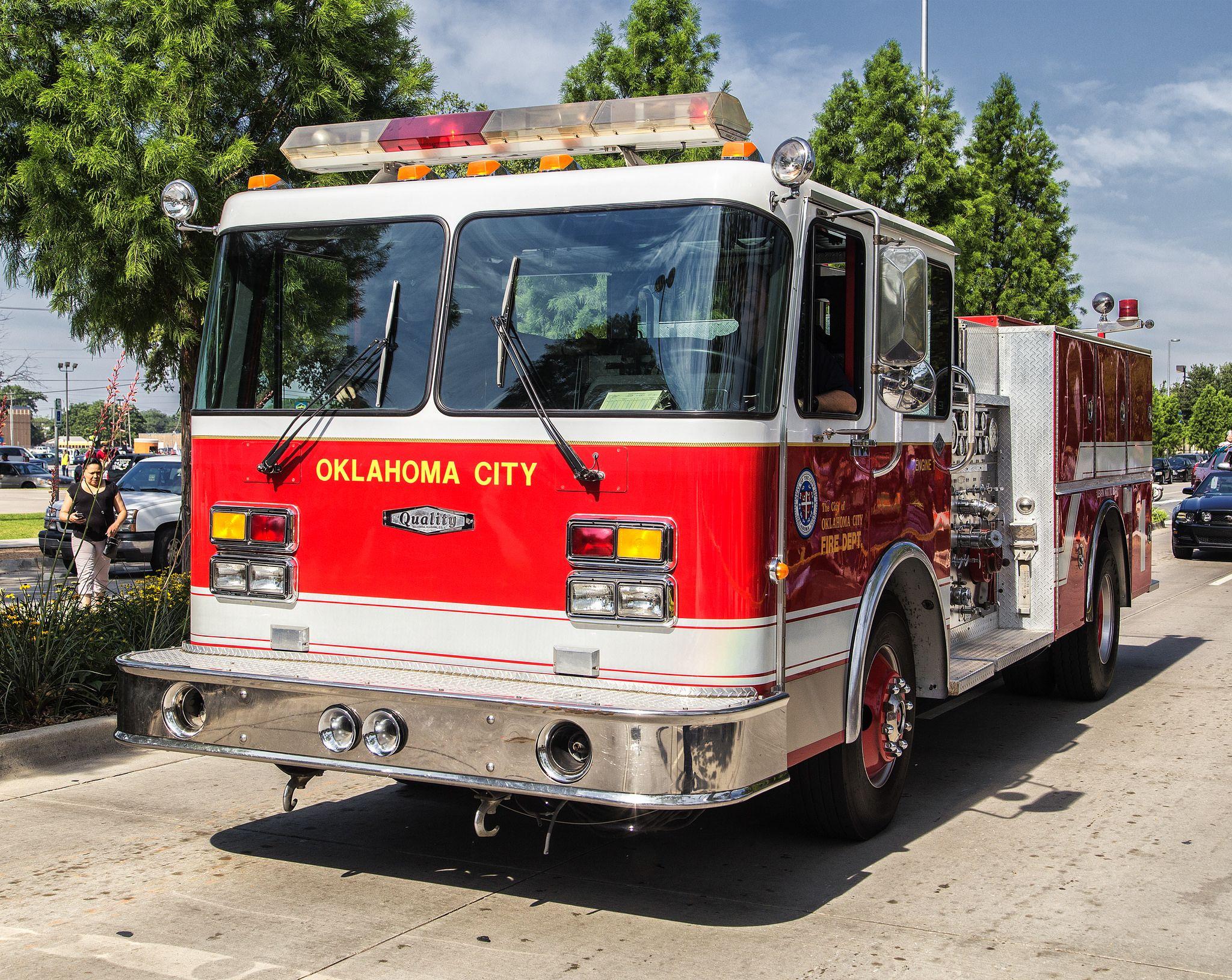 Okc Fire Department Fire Department Ems Unit Firefighter