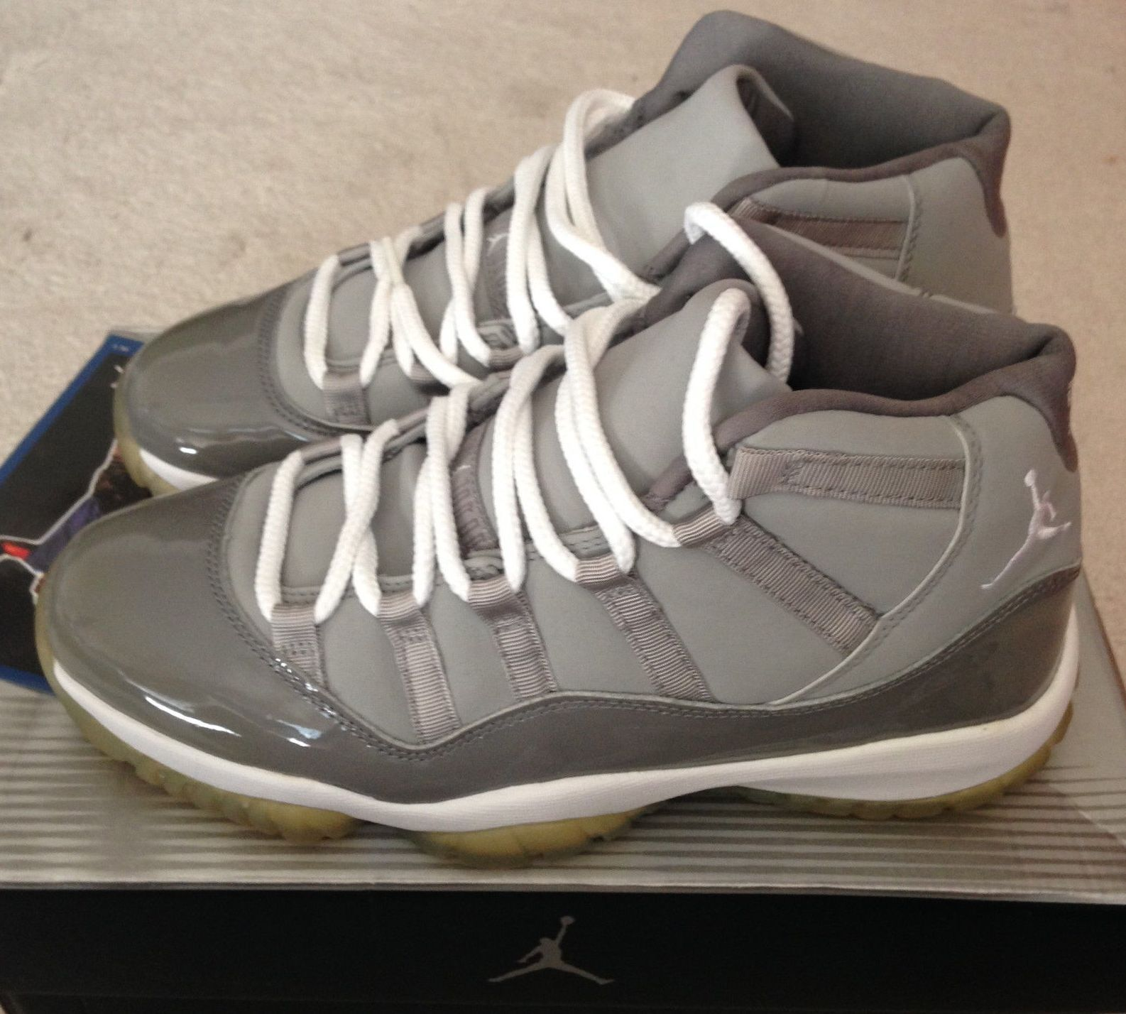 56008301c9726 Nike air jordans · DS 2001 Nike Air Jordan Retro XI 11 Cool Grey Size 8.5 136046  011