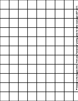 1 Grid Sheet For 8 5 X11 Letter Size Paper Letter Size Paper Grid Paper Drawing Grid