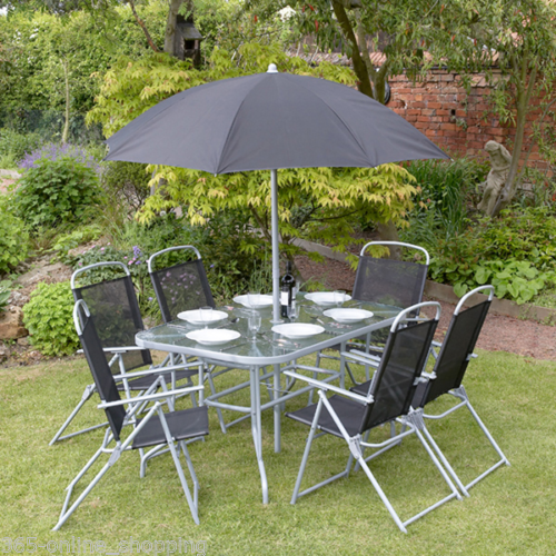8 Piece Garden Patio Furniture Set 6 Seater Dining Set 640 x 480
