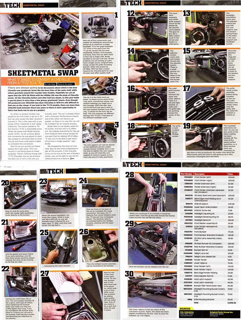 "#BodieStroud in ""Super #Chevy "" Magazine for Nov 2011 ! www.BodieStroud.com"
