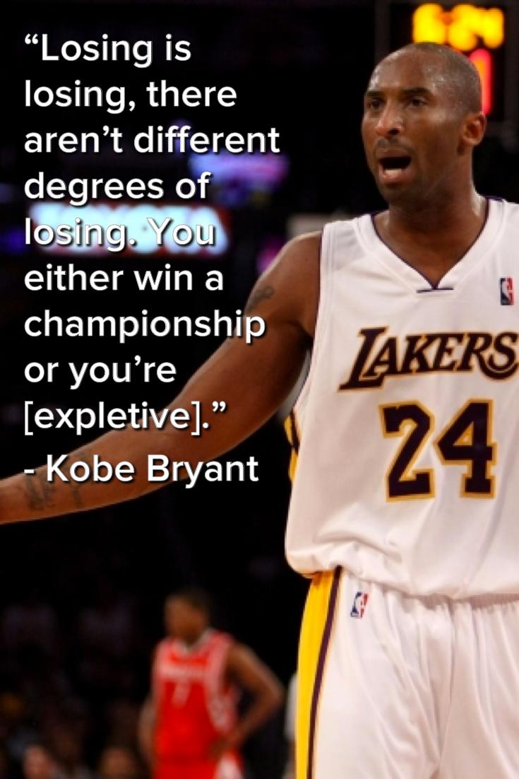 Kobe Bryant Quotes Kobe Bryant's Trashiest Trashtalking Quotes Of Alltime  Kobe And .