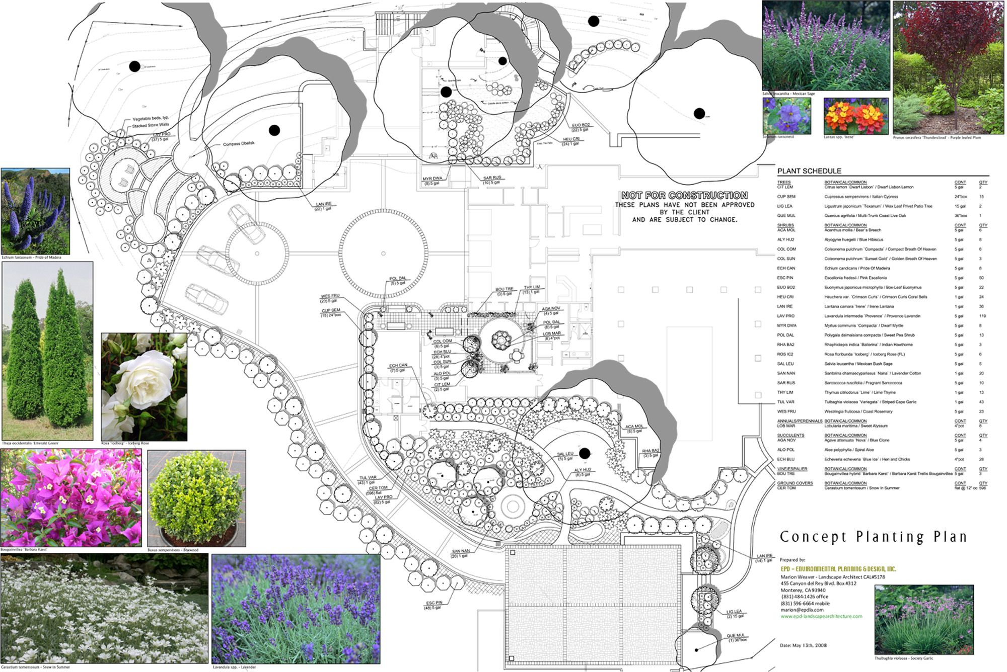 residential planting plan Planting Pinterest Planting Site