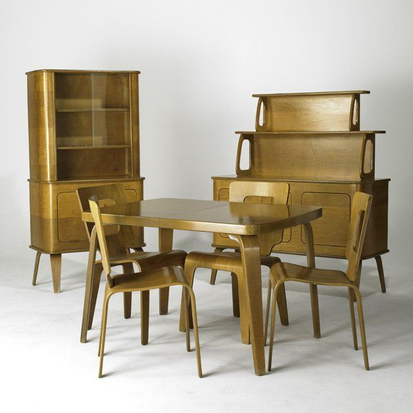 Dining Suite USA Birch Pl Lot 179 We Have The Table Chairs And Buffet But Not China Cabinet