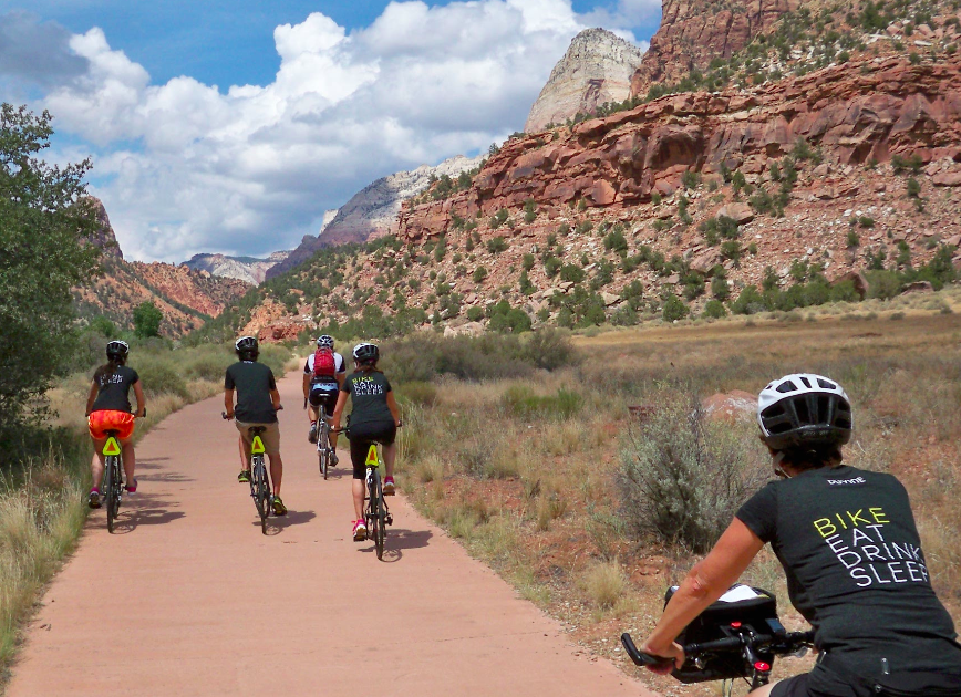 Zion National Park Cycling & Adventure Vacations | Zion ...