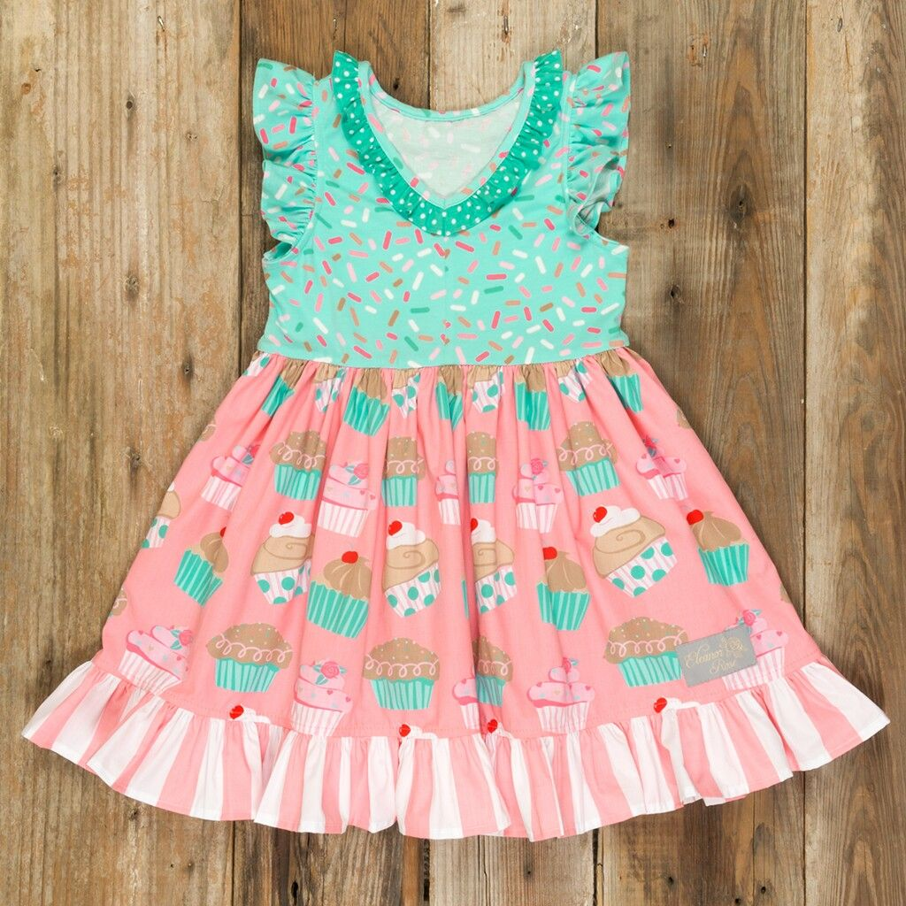 c51b6d6dd8 Eleanor Rose Cupcake Harper dress | Adorable Kids Clothing | Dresses ...