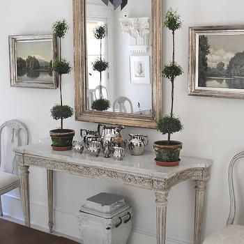 Swedish Console Table Cottage Dining Room Loi Thai