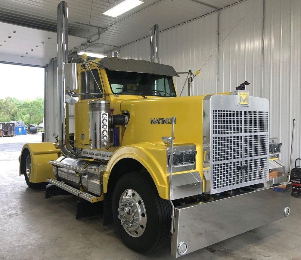 1997 Marmon Ebay Motors Other Vehicles Trailers Commercial Trucks Ebay Trucks Semi Trucks Diesel Trucks