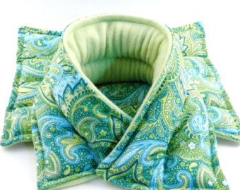 Microwave Rice Bags Heating Pads Wrap Neck Pillow Heat Pack Fibromyalgia