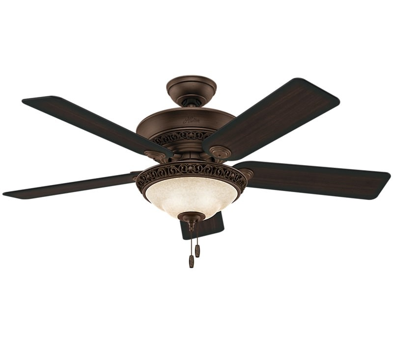 Hunter 53200 Italian Countryside 52 Convertible Ceiling Fan With Led Light Cocoa Ceiling Fan Hunter Ceiling Fans Ceiling Fan With Light Ceiling fan with led light