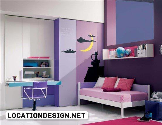 افكار تصميمات ديكورات غرف نوم بنات مراهقات انيقة وبسيطة Cool Girl Bedrooms Girls Room Design Teenage Girl Bedroom Designs