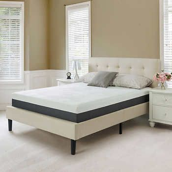 Blackstone Elite 10 Gel Infused Queen Memory Foam Mattress Memory Foam Mattress Mattress Queen Upholstered Bed