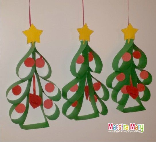 Decorazioni di natale con alberelli decorazioni di for Addobbi natale scuola infanzia