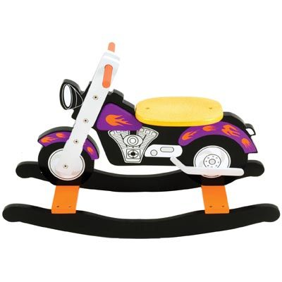 Coming Kids Jip.Jip Wooden Rocking Motorbike Play Pinterest Children