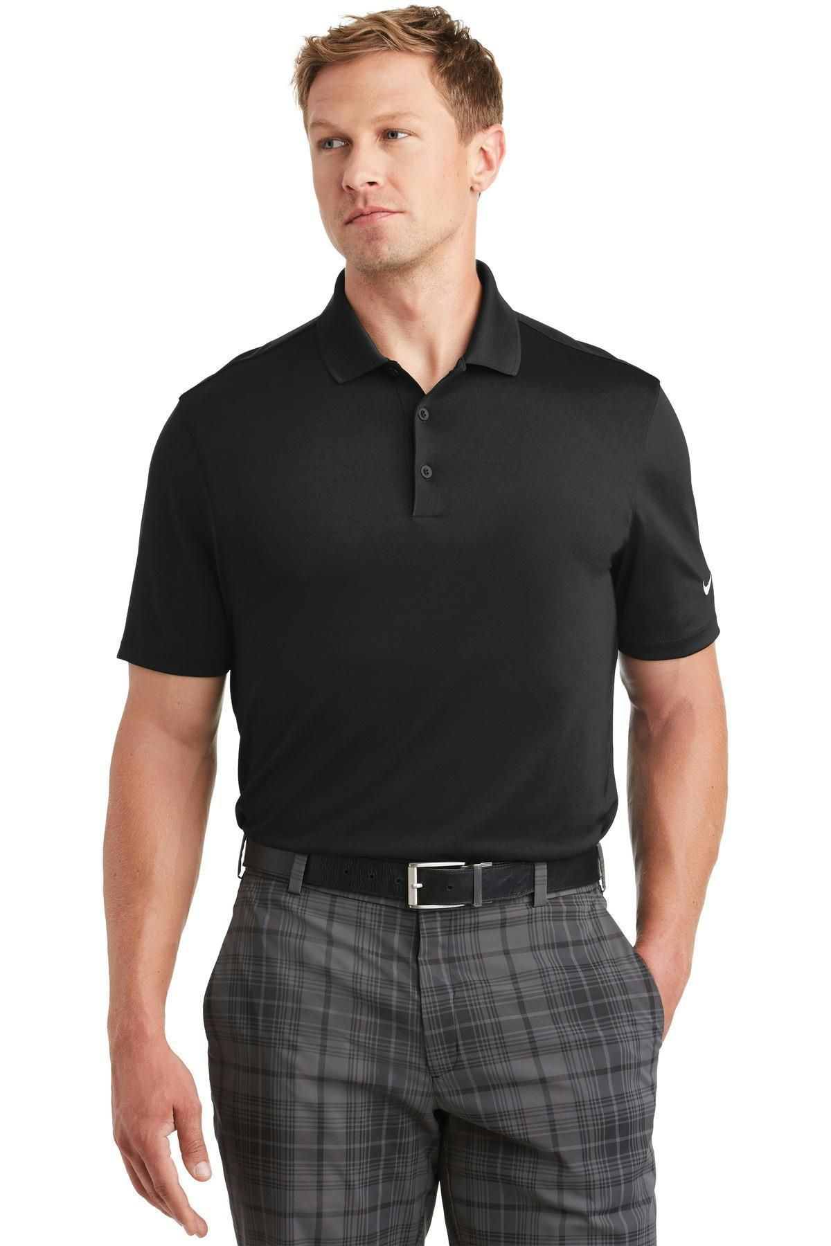 fd4db186 Nike Golf Dri-FIT Players Polo with Flat Knit Collar. 838956 | Products