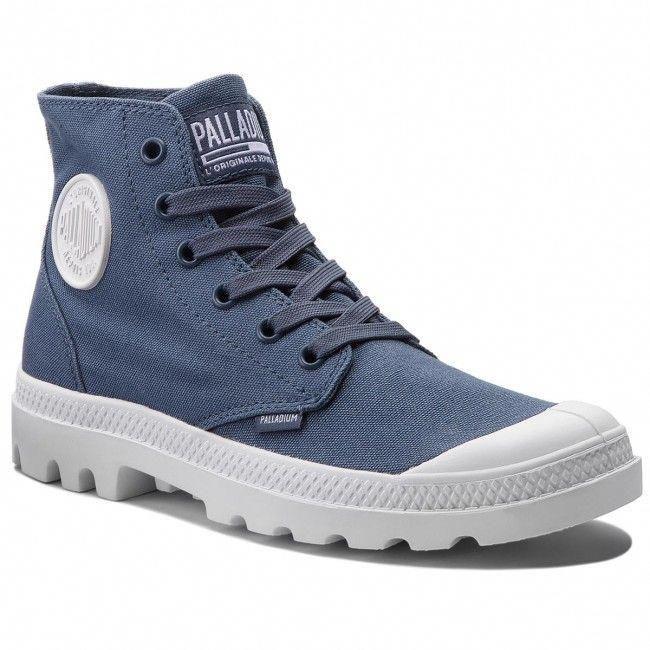 huge selection of attractive price best selling PALLADIUM Hiking Boots Blanc Hi 72886-432-M Vintage Indigo ...