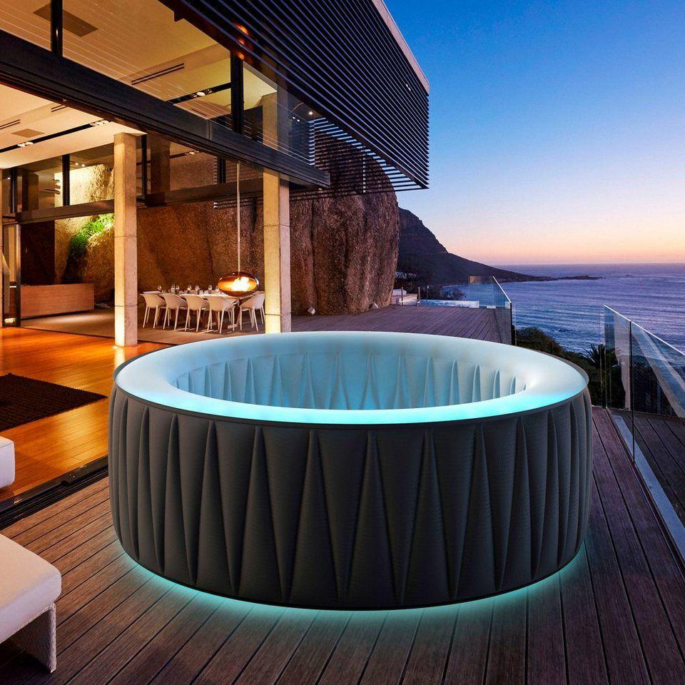Mspa Whirlpool Delight Aurora D Au04 Oxh 180x70 Cm Inkl Led Beleuchtung Und Abdeckung Online Kaufen Otto Whirlpool Led Beleuchtung Beleuchtung