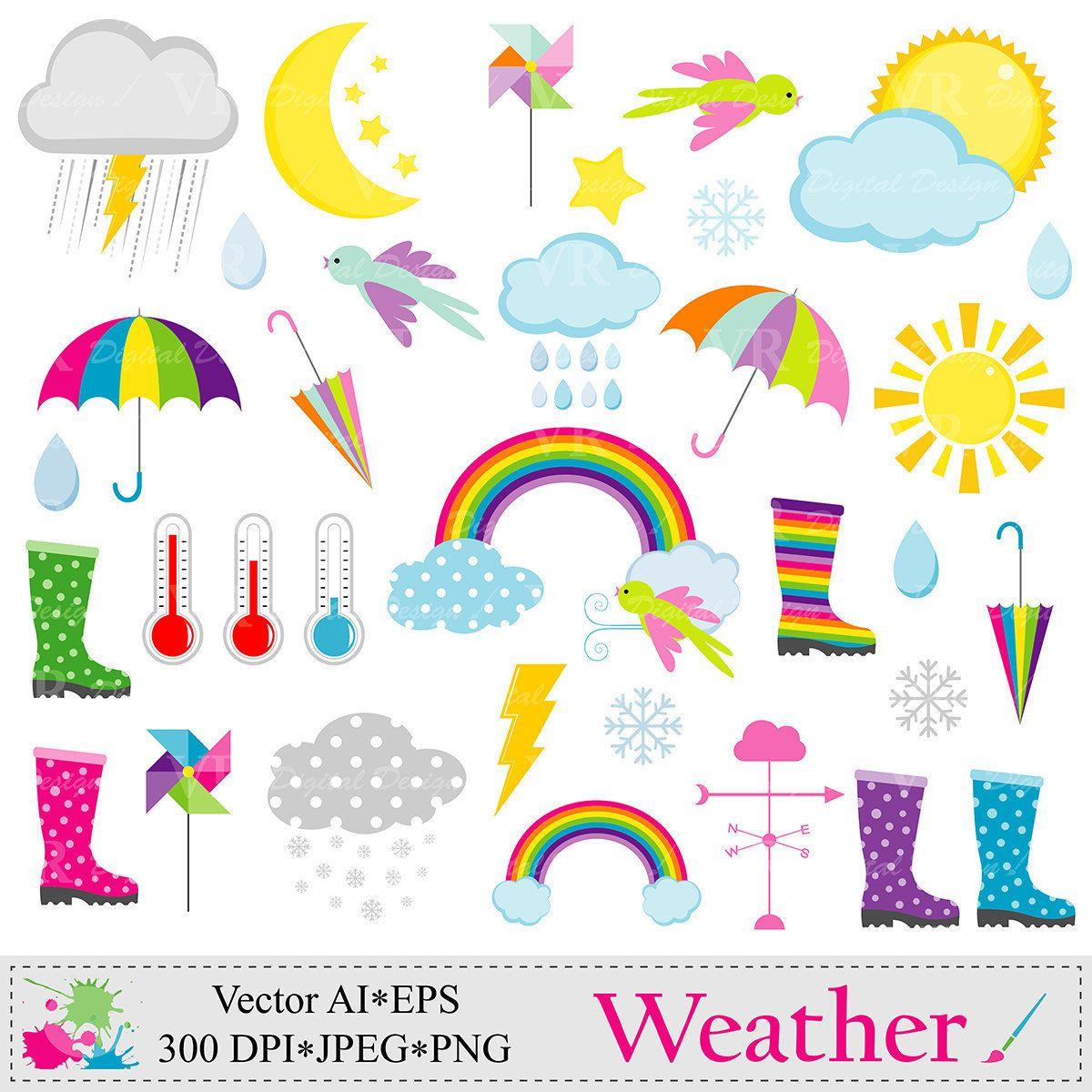 weather clip art weather clipart rain clouds sun snow