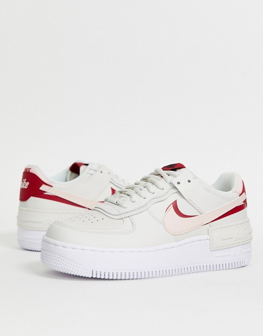 Nike Off White Air Force 1 Shadow Sneakers Asos Nike Air Force Nike Air White Air Force 1