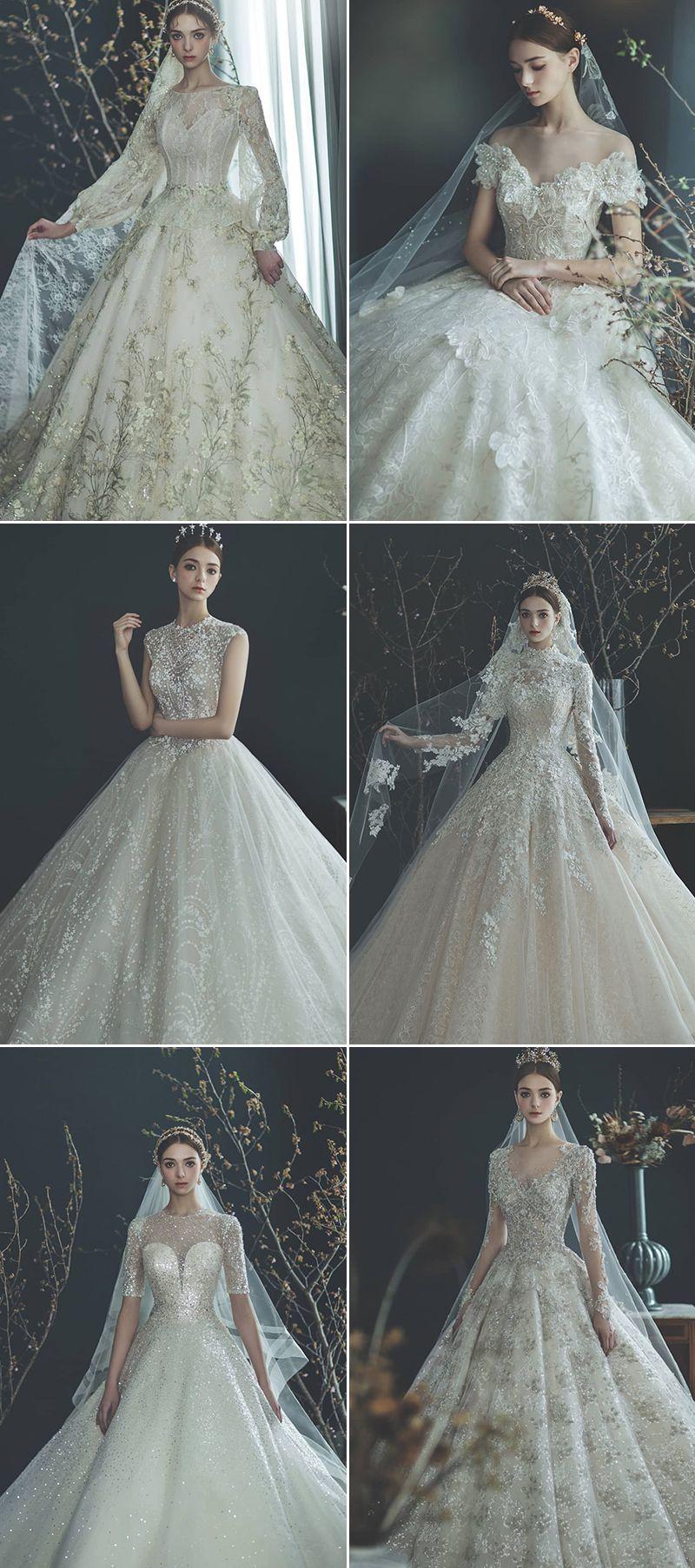 40 Modern Fairytale Wedding Dresses Featuring Enchanted Details