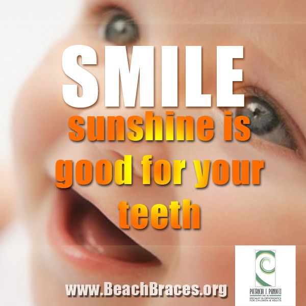 Cute Braces Quotes: Beach Braces Smile Quote #7