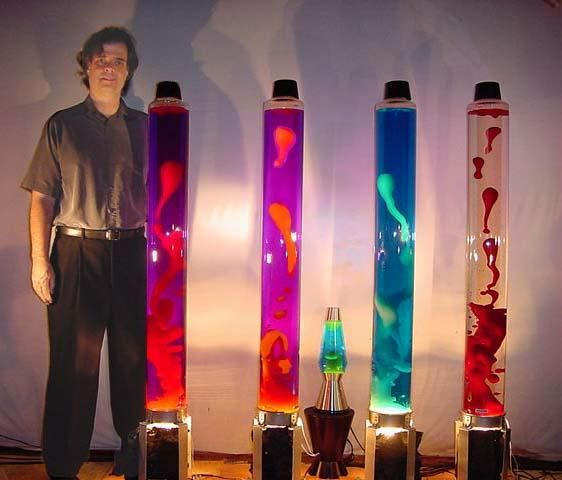 Huge Lava Lamp Unique Giant Lava Lamp  International Robotics Incpioneers Of Techno Design Decoration