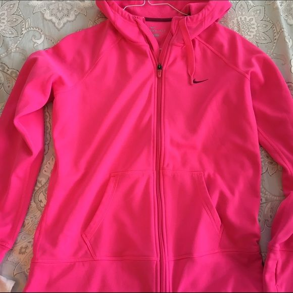 9ab13e5ddb Nike Hoodie Gorgeous bright pink color. Worn once or twice. Excellent  condition. Called the