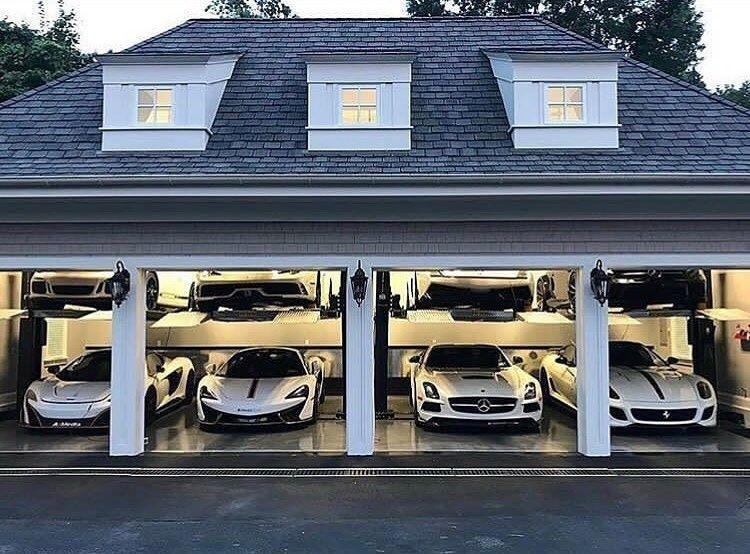 Luxury Garage Garage Design Interior Garage Design Luxury Garage