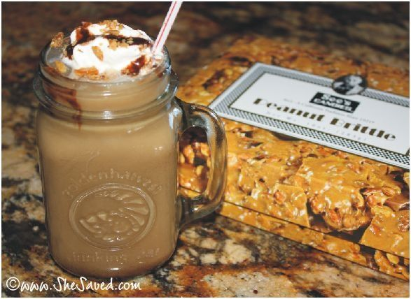 Nom nom nommmm! Thanks Keri Lyn for the Peanut Brittle Topped International Delight Iced Mocha recipe! @Keri Lyn - She Saved #IcedDelight Theres more at http://porkrecipe.org/posts/Nom-nom-nommmm-Thanks-Keri-Lyn-for-the-45089