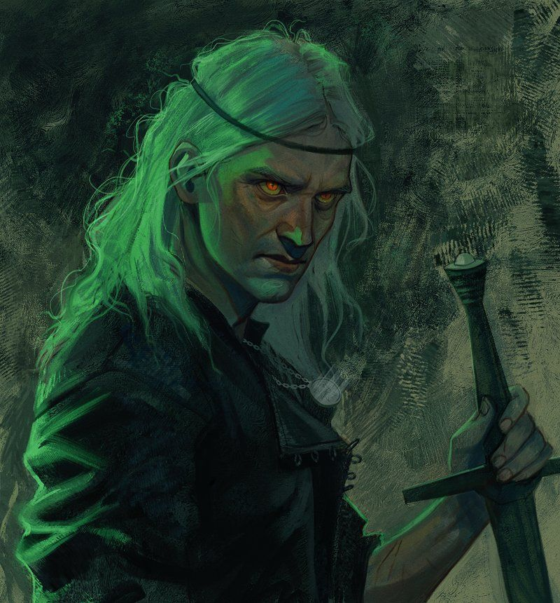 Diana Novich On Twitter In 2020 The Witcher Books Witcher Art The Witcher Geralt