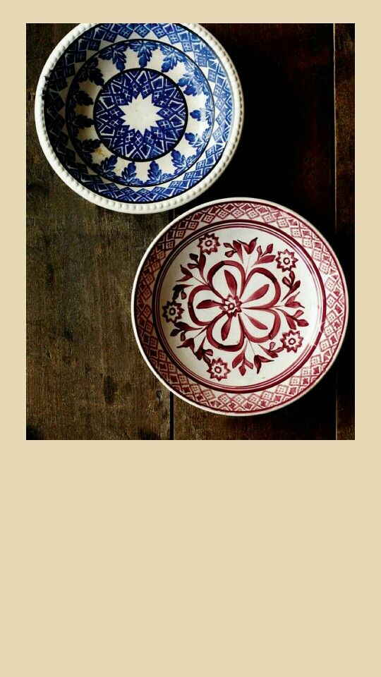 From the new Emma Bridgewater book, I love these bowls.