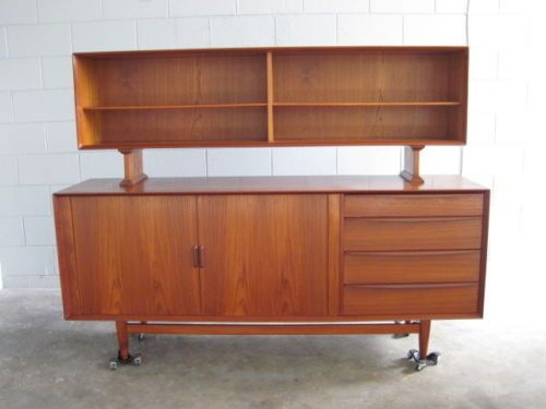 Danish Modern Buffet Credenza : The games factory 2 home furnishings mid century sideboard