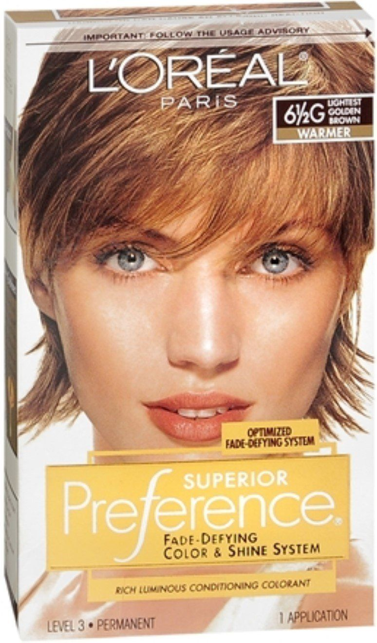 Pref Haircolor 65g Size 1ct Loreal Preference Hair Color Lightest