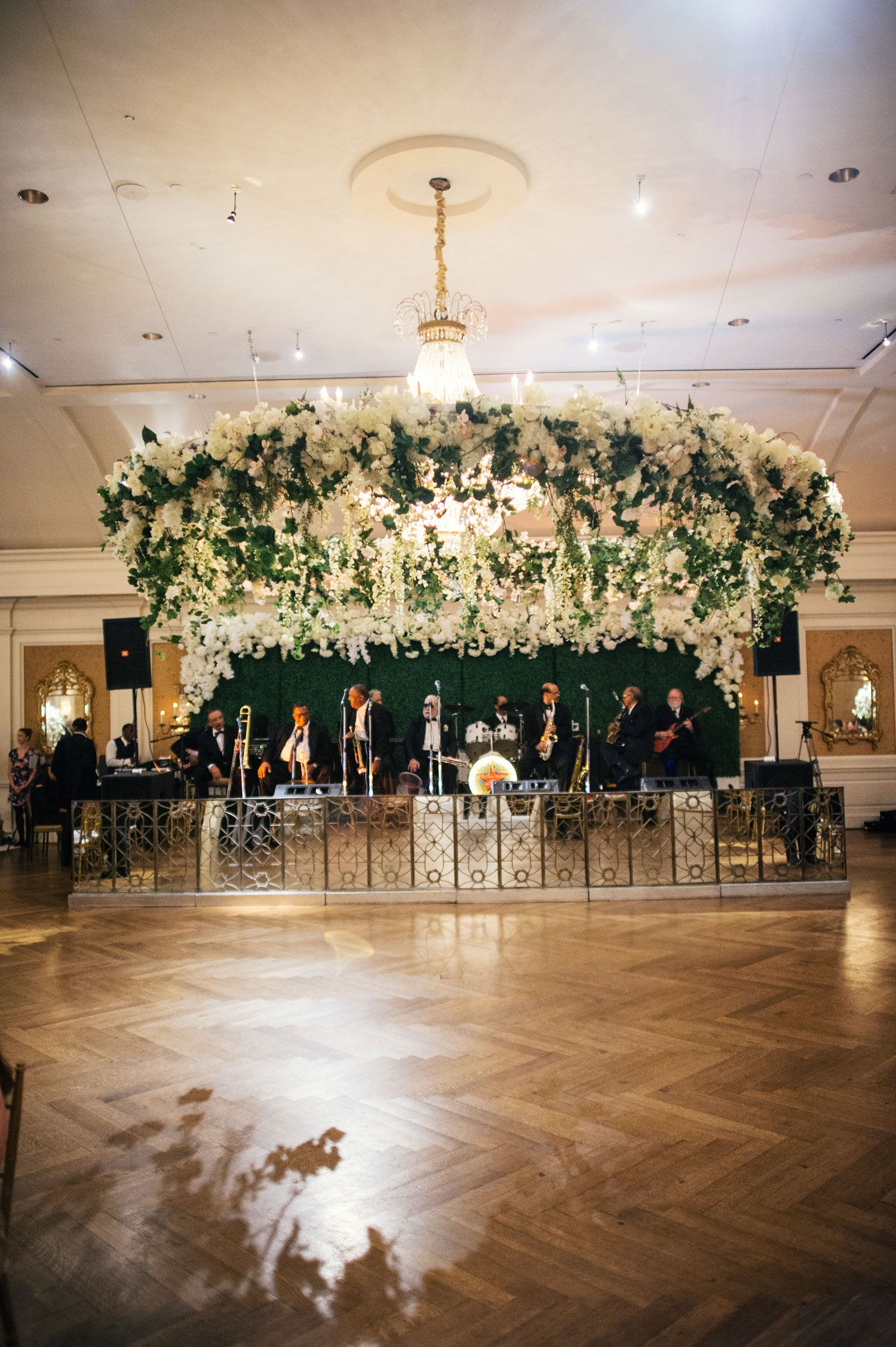 Remarkable Ceiling Installations Over The Dance Floor Wedding Ceiling Decorations Wedding Ceiling Dance Floor Wedding