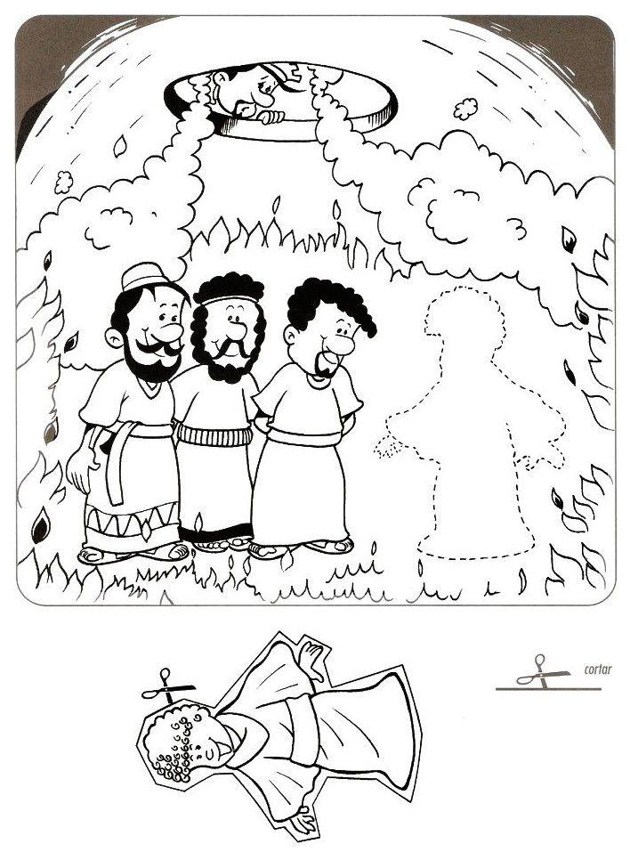 ME ABURRE LA RELIGIÓN: DIBUJOS PARA COLOREAR. SADRAC, MESAC Y ...