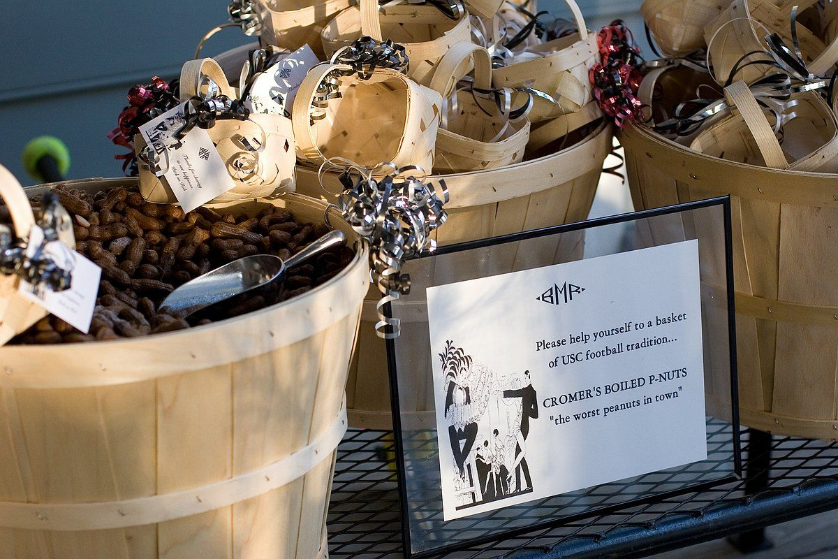 Southern Wedding Favors Of Boiled Peanuts Weddings Southern