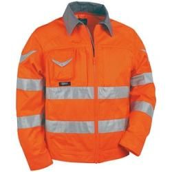 Cofra® Herren Warnjacke Sight orange Größe 64 Cofra