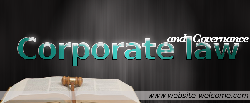 Corporate law and governance broadly refers to the