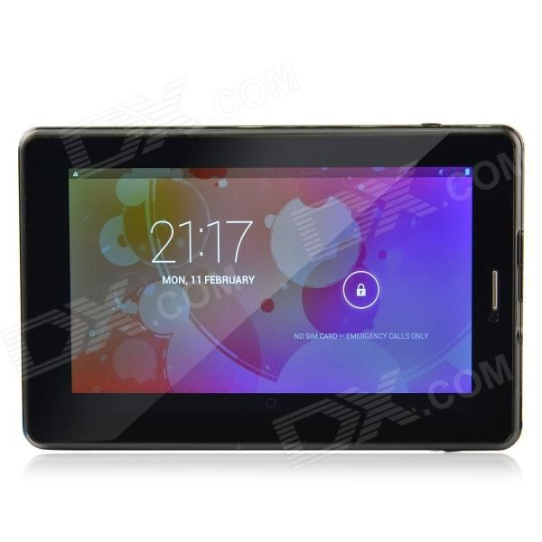 "HL6 7.0"" Capacitive Android 4.2 Quad Core Tablet PC w/ 1GB RAM, 8GB ROM, Wi-Fi, Camera - Black #Tablet #PC #Sale #Cheap"
