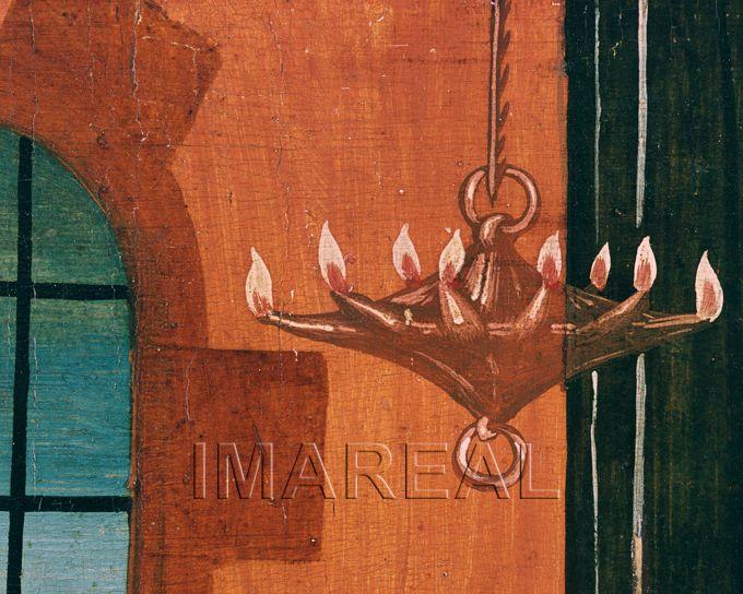 Dornenkrönung Christi Kunstwerk: Temperamalerei-Holz ; Einrichtung sakral ; Flügelaltar ; Breu Jörg der Ältere (um 1475-1537) ; Donauschule ; Mt:27:028-030 , Mk:15:017-019 , Jo:19:002-008 , Passion:11:001-007  Dokumentation: 1501 ; 1501 ; Herzogenburg ; Österreich ; Niederösterreich ; Stiftskirche  Anmerkungen: Aggsbach