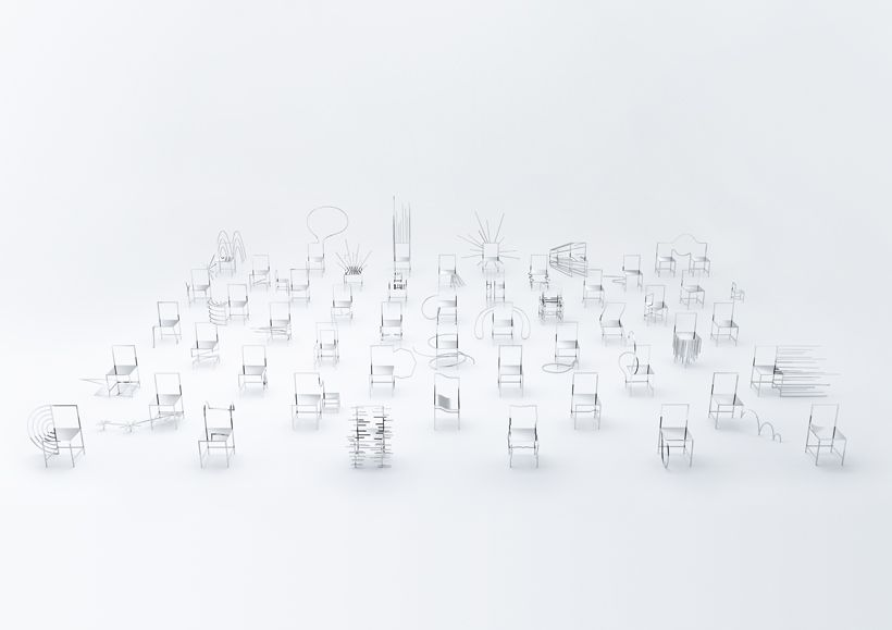 Awesome Nendo, Takumi Ota · Milano Design Week. 50 Manga Chairs · Divisare |  Furniture Design | Pinterest | Manga, Design Week 2016 And Chairs