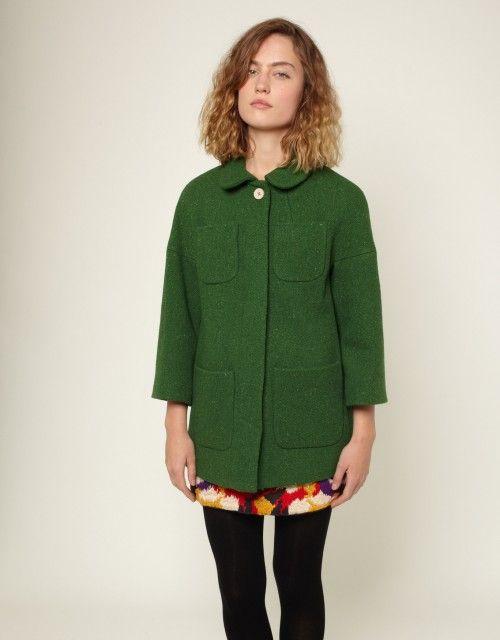 twiggy coat / ymc.