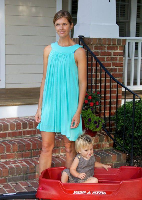 Maternity Dress,Nursing Dress, Breastfeeding Dress, Ready to Ship
