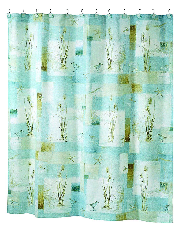 Avanti Linens Blue Waters Shower Curtain