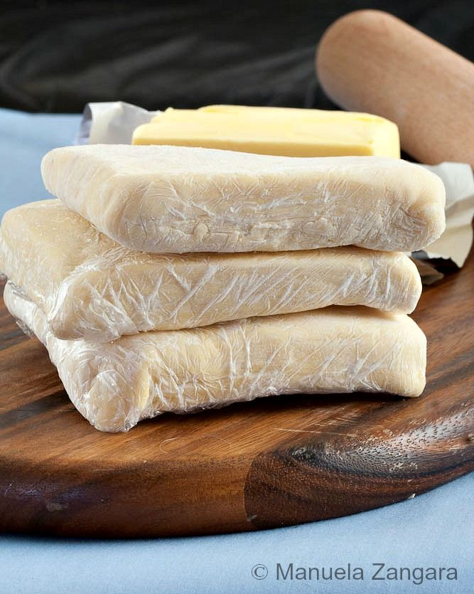 Step-by-step instructions to make Puff Pastry at home and freeze it! #tutorial #puffpastry