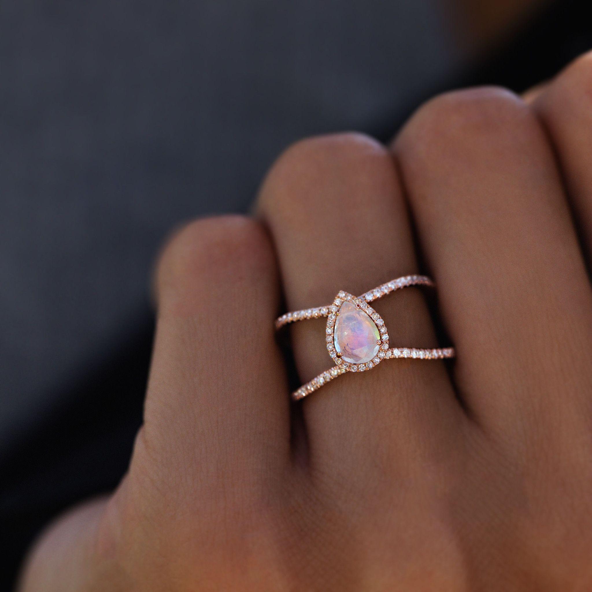 47+ Teardrop bridal ring set ideas in 2021