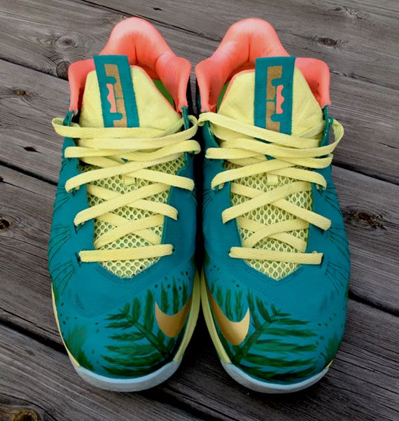 timeless design 0c06c db9b7 reverse lebronold dejesus 8 Nike LeBron X Low Reverse Palmer by DeJesus  Customs. Find this Pin and more ...